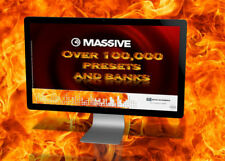 Native Instruments  MASSIVE 100,000+  presets and banks all genres 2 dvd`s worth
