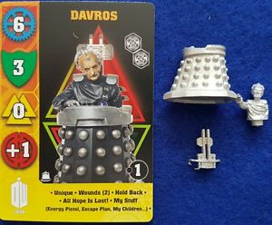Dr Who Exterminate game miniature Of Davros plus full set of game cards.