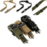New 2 Points Safety Gun Sling Rope Mountaineering Utility Tactical Hunting Belts