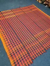 Antique Kurdish Blanket Handmade Flatweave