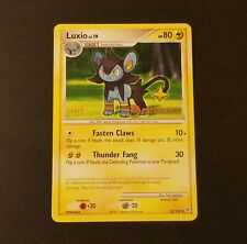 Luxio Staff Pre-Release Promo Pokemon TCG Card Lv.19 52/130 NM