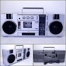SHARP GF-7300 4 Band Radio Cassette Boombox