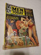 Men Today Magazine, 1962 Oct, Nazi, torture, GGA, pulp, bondage, men's adventure