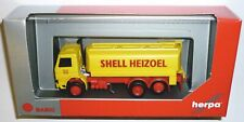Herpa Basic 310956 Scania 122 3-achs Tank-LKW Shell 1:87 Spur H0