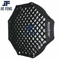 "Godox 80cm 31.5"" Octagonal Flash Umbrella Softbox with Honeycomb Grid"