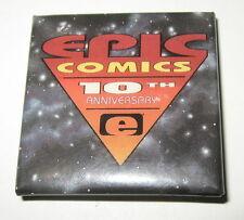 Epic Comics Pin Button Celebrating 10th Anniversary 1992 Marvel Imprint