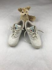 Women Vintage Reebok Classic Athletic Casual Sneakers White Shoes SZ/6