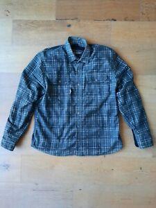 Street & Steel Flannel Motorcycle Shirt Jacket L/S Snap Button Vault Armor Sz L