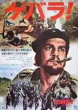 CHE! Japanese B2 movie poster OMAR SHARIF CHE GUEVARA CASTRO CUBA 1969 NM