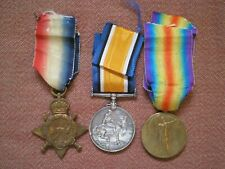 WW1 Medal Trio to McSPADDEN, 2nd Canadian Infantry, Wounded Ploegsteert Trenches