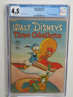 FOUR COLOR  #  71 US DELL 1945  Donald Duck Three Caballeros  CGC VG+ 4.5