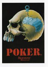 ALCHEMY SINISTRUS carte postale n° PC 500 éditée en 1987 POKER