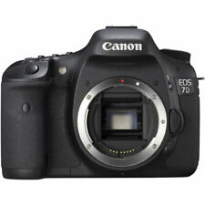 Canon EOS 7D 18.0MP Digital SLR Camera Body Only with Battery, Charger and Strap
