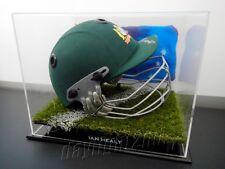 ✺Signed✺ IAN HEALY Replica Cricket Helmet PROOF COA Australia 2018 Shirt