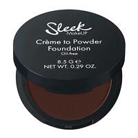 NEW Sleek Creme To Powder Foundation SHADES - C2P22 (Deep Sable) SLIGHTLY DARKER