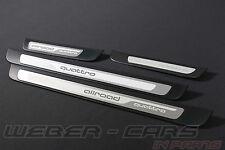 Orig. Audi A4 8K B8 ALLroad ALU Einstiegsleisten Einstieg Leisten 4St. SET