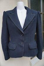 Yves Saint Laurent YSL 38 Black Jacket blazer coat Neiman Marcus Saks suit 4 2 6