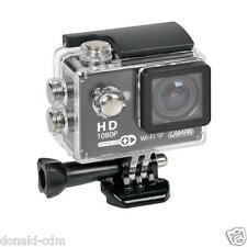 Action-Cam Plus, telecamera per sport 1080p Wi-Fi + Kit accessori,auto,moto spor