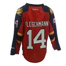 Florida Panthers Nhl Reebok Apparel Kids Youth Size Tomas Fleischman Jersey New