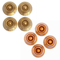 4 *Gold Speed GUITAR CONTROL KNOBS +4 *Tog Relic Aged Speed Knob Amber Guitar