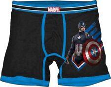 Marvel Comics Captain America Action Pose Civil War Mens Boxer Briefs Size Large