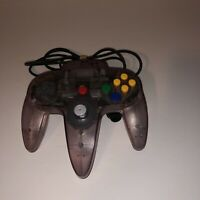 Nintendo N64 Controller Atomic Clear Purple Remote OEM Tested