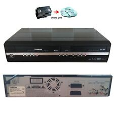 Toshiba D-VR17 DVD & VHS Recorder VCR Tapes Transfer Converter Combo DivX DVR17