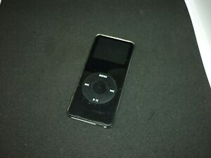 iPod nano 1. Generation, schwarz, voll funktionsfähig, guter Zustand
