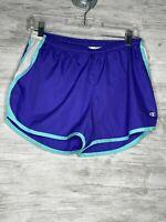 Champion Shorts Womens Size M Blue Activewear