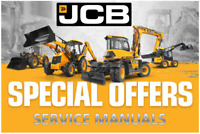JCB Midi CX Backhoe Loader Repair Manual