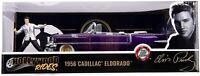 Elvis - 1956 Cadillac El Dorado 1:24 with Figure Hollywood Ride