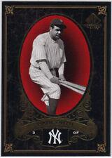 BABE RUTH 2007 Upper Deck SP Legendary Cuts #54  NM-MT