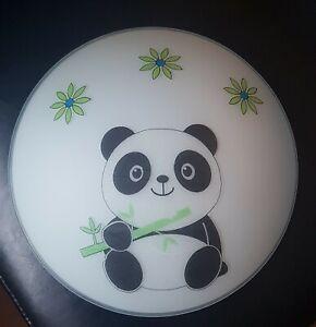 Pandabär Lampe Deckenlampe Wandlampe Panda Kinderzimmer Deko Serviette Leuchte