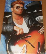 George Michael 1987 Original Promo Poster 24x36 Wham RARE