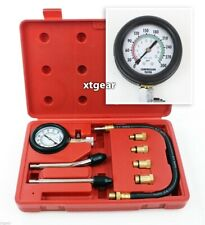 Engine Cylinder Compression auto Tester Kit gauge M8 M10 M12 M14 Gas motor