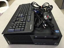 Lenovo M72E Intel Core i5-3470 @3.20GHz 8GB Mem, 1TB HDD Win 7 Pro x 64-Bits