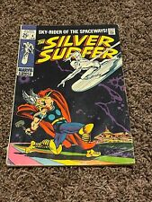Silver Surfer #4 - 1st Battle Silver Surfer Vs Thor - Classic Cover - Nice Copy