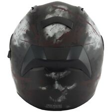 VCAN V128 Full Face ACU DVS Motorcycle Bike Crash Helmet Lid - Rage M
