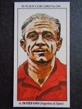 The Sun Soccercards 1978-79 - Alfredo Di Stefano - Argentina #244