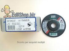 Dischi SAIT da taglio PIETRA SAITEKO DT-BF  diam. 115x3  n°10 dischi
