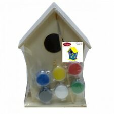 Boyle Birdhouse Paint Kit - Perfect for Arts and Craft MDF Entire Set
