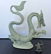 Valiant Enterprises Warhammer AD& D Scale Reisin Fantasy Fire Dragon Kit NIB
