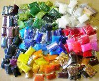 Rocailles Perlen set 2mm Glasperlen 20g x 75 farben Bastelset Großhandel BEST