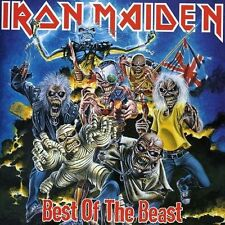 IRON MAIDEN BEST OF THE BEAST BRAND NEW SEALED CD GREATEST HITS REMASTERED