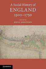 A Social History of England. A Social History of England, 1500-1750 (Paperback b