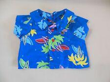 Vintage Teddy Ruxpin Summertime Hawaiian Summer Shirt