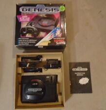 Sega Genesis System Model 1 Console w/ Sonic the Hedgehog 1 Box #Q1