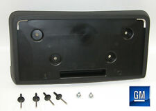 11-13 Buick Regal Black Plastic Front License Plate Mounting Bracket NEW GM 825