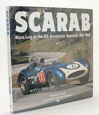 Scarab Preston Lerner Race Log of the All-American Specials 1951-1965 Vtg Photo