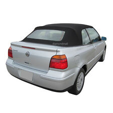 Volkswagen Golf Cabrio 2001-02 Convertible Top & Glass window Black Twillfast II